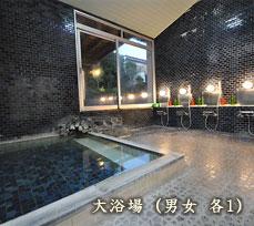 大浴場(男女 各1)