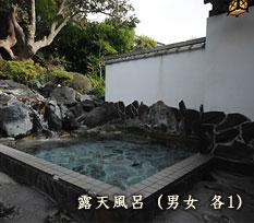 露天風呂(男女 各1)